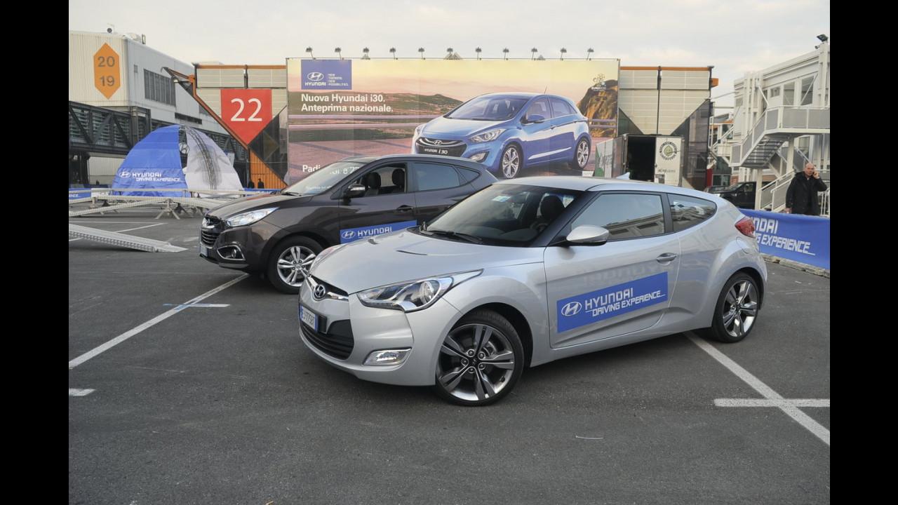 Hyundai ix35 e Veloster - I Test Drive del Motor Show