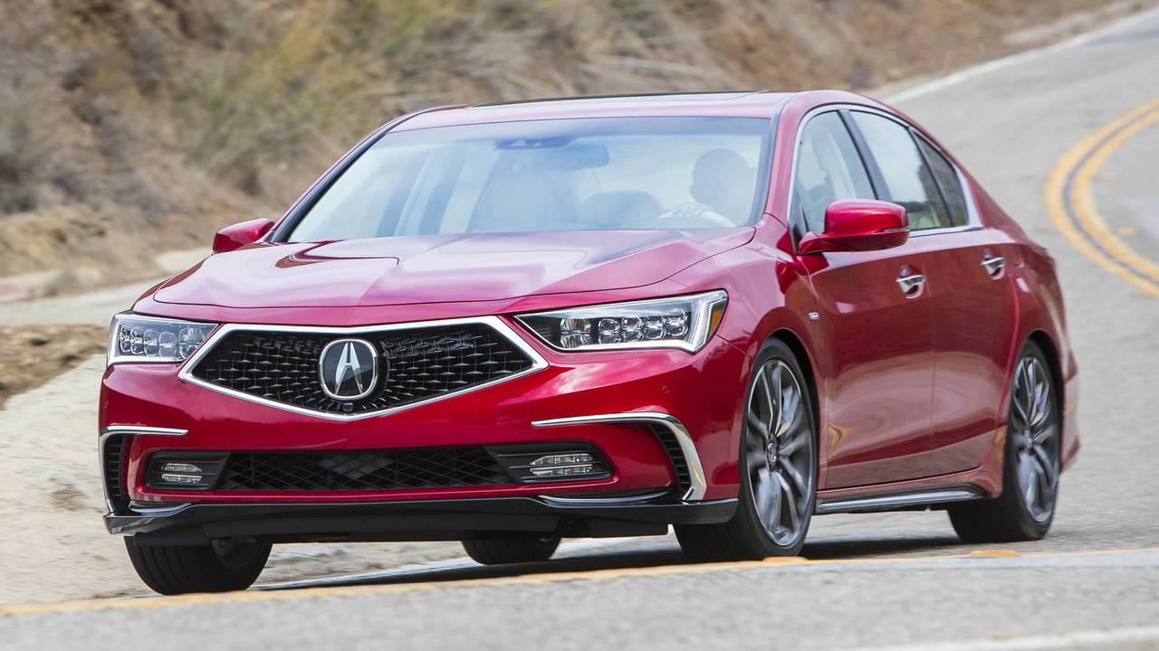 Luxury Sedan: 2020 Acura RLX