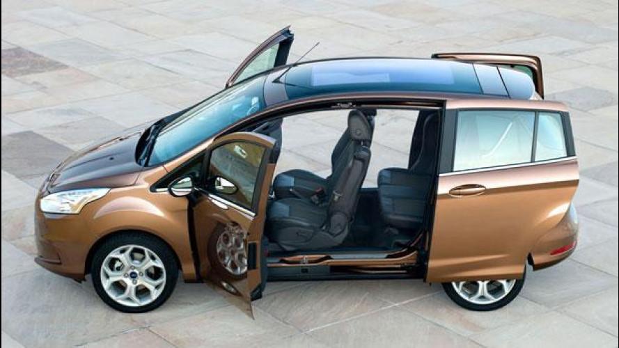 Ford B-Max agli Internazionali di Tennis 2012 debutta in versione