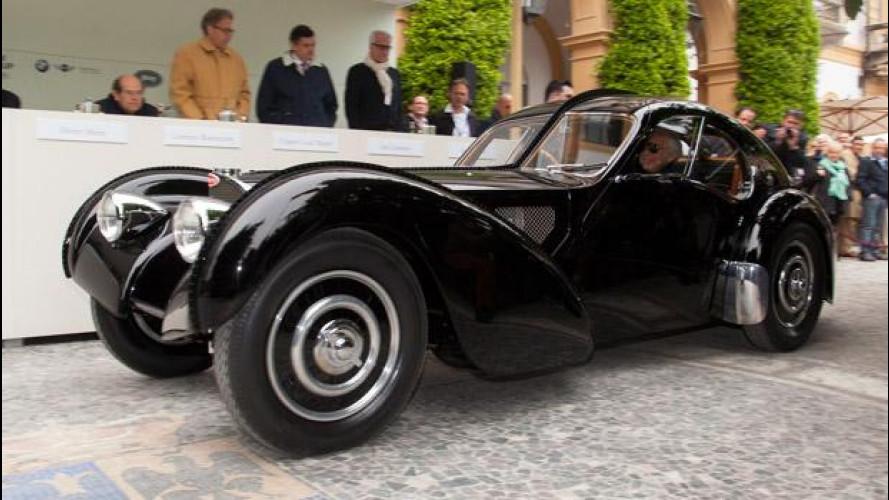 Concorso d'Eleganza Villa d'Este 2013, il trionfo Bugatti