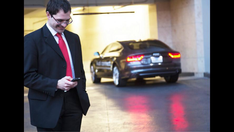 Audi inventa il pagamento wireless del parcheggio