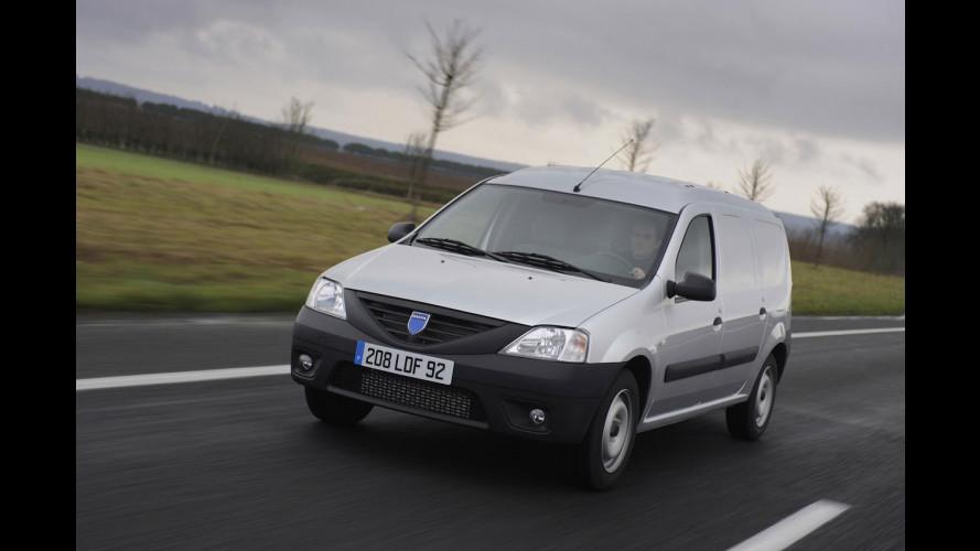 Nuove Dacia Logan pick-up e Logan van