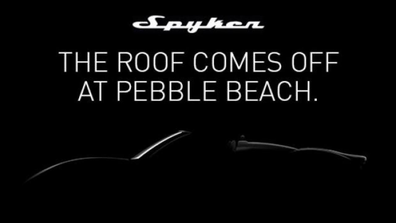 [Copertina] - Spyker B6 Venator Spyder Concept, appuntamento a Pebble Beach