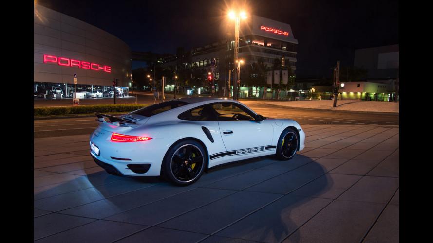 Porsche 911 Turbo S Exclusive GB Edition, molto British
