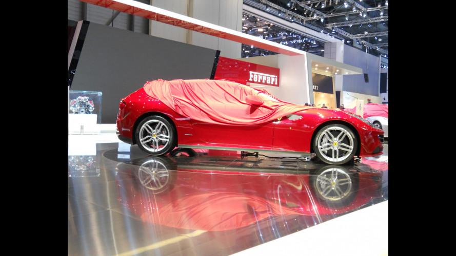 Ferrari FF, le prove generali