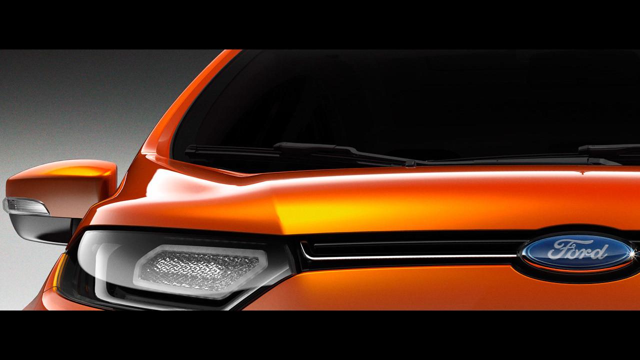Ford SUV compatto. Il teaser