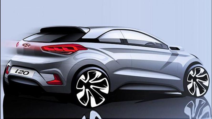 Hyundai i20 Coupé, l'utilitaria sportiva