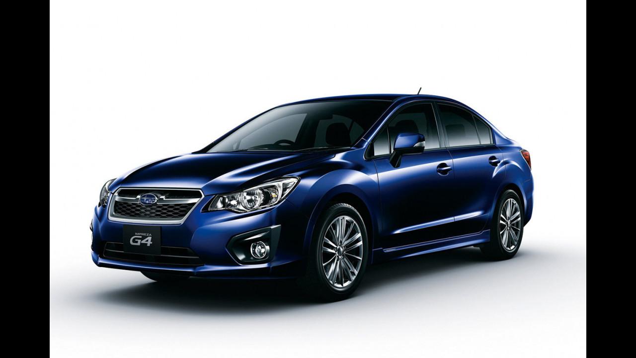 Nuova Subaru Impreza G4 per il Giappone