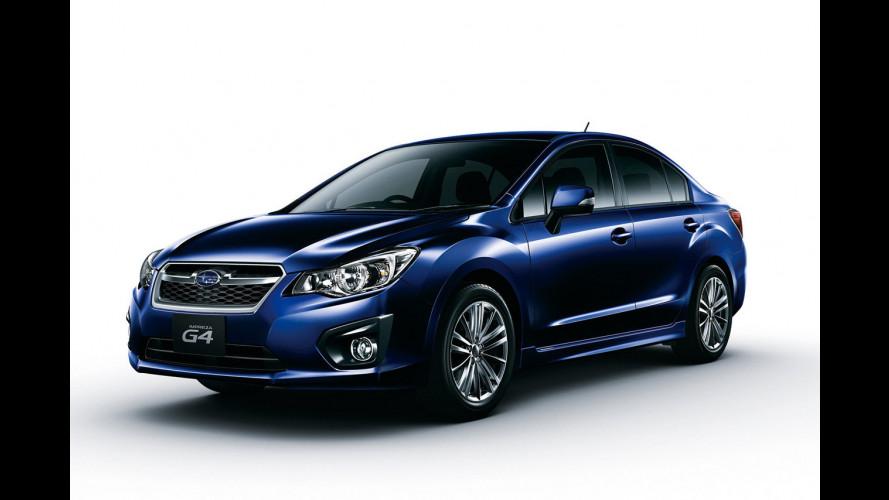 Nuova Subaru Impreza: in Italia nel 2012