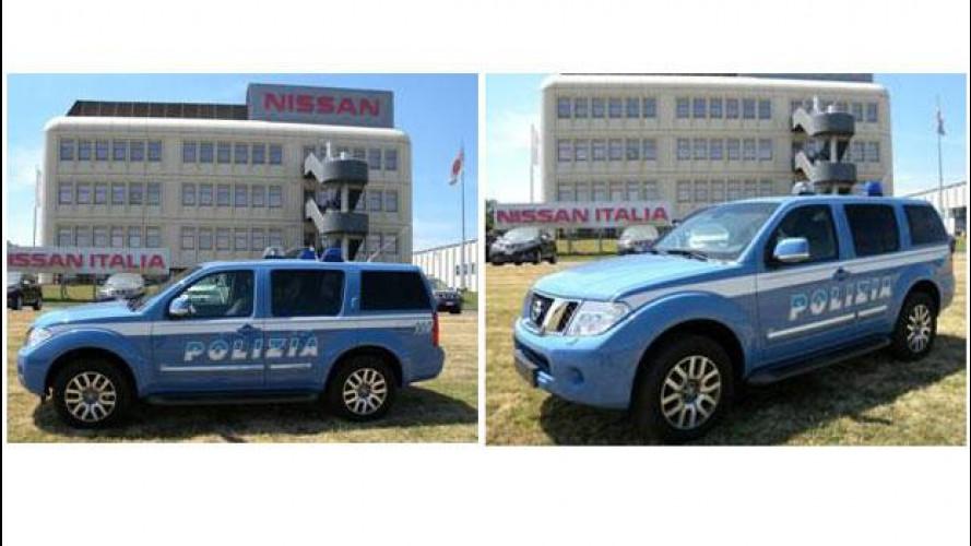 Nissan Pathfinder entra nella Polizia di Stato