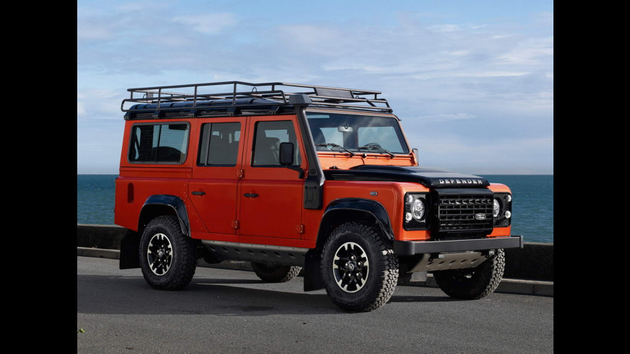 Land Rover Defender, le serie speciali dell'addio