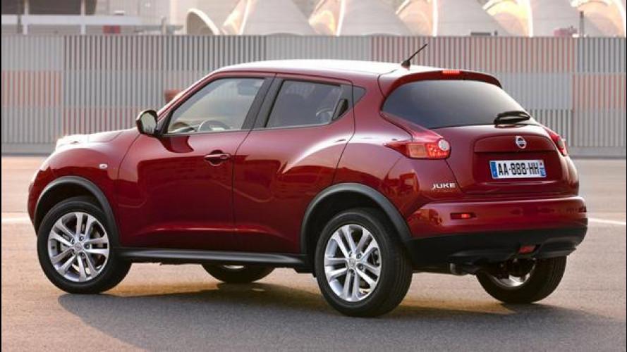 Nissan Juke 1.5 dCi, listino da 18.600 euro