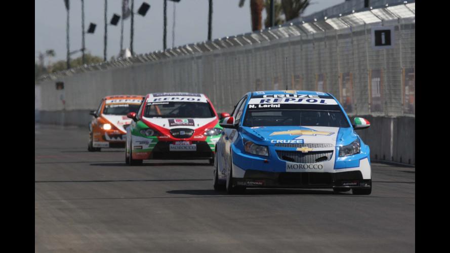 WTCC: doppia vittoria Chevrolet Cruze in Marocco