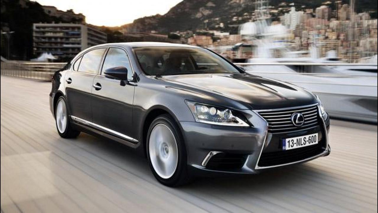 [Copertina] - Lexus LS Hybrid, un giorno da