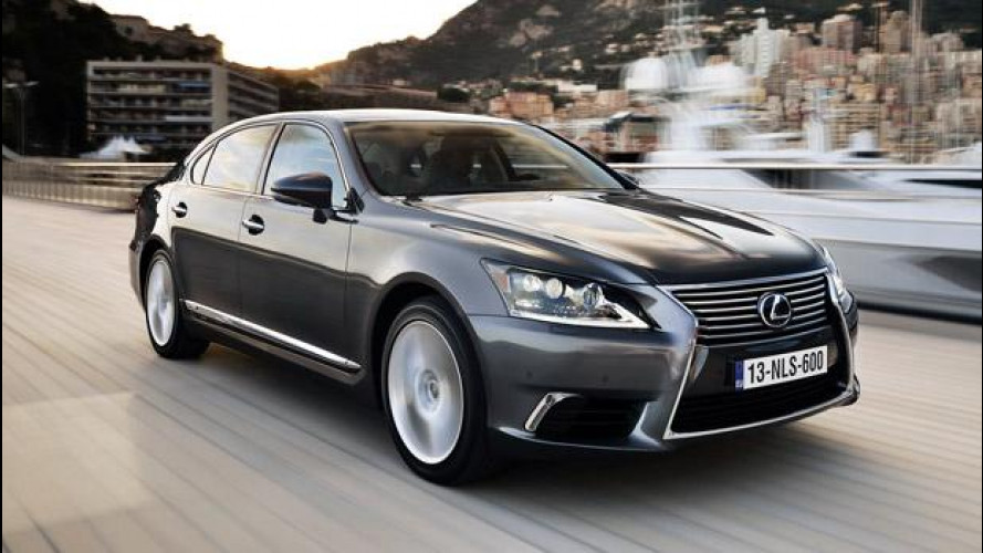 """Lexus LS Hybrid, un giorno da """"presidente"""""""