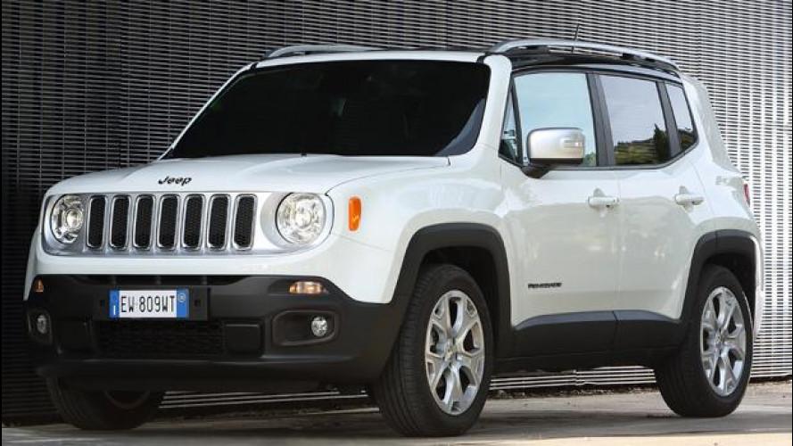 Jeep Renegade, ora anche a benzina con cambio a 9 marce