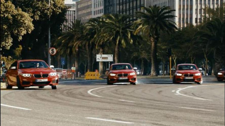 BMW M235i, il Drift Mob da 326 CV [VIDEO]
