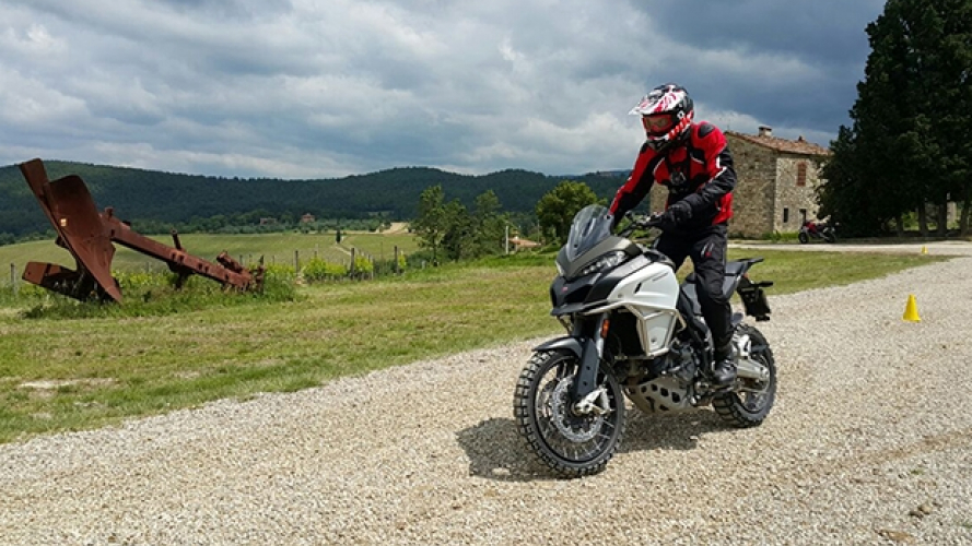 DRE, in off-road con la Ducati Multistrada Enduro