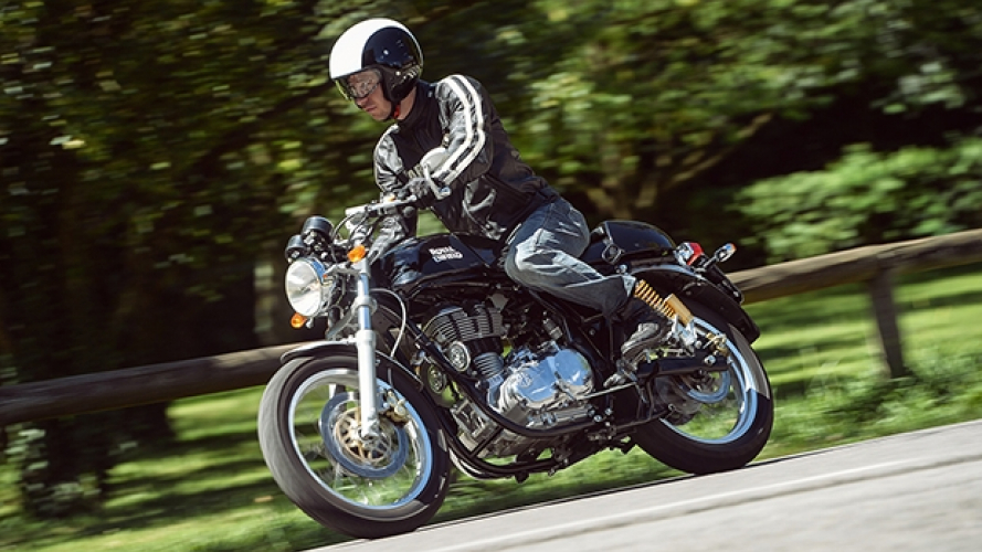 Royal Enfield, gamma 2016 - TEST
