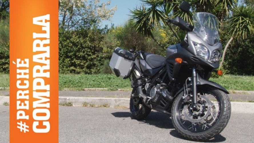 Suzuki V-Strom 650 XT ABS Fun Ride: Perché comprarla... e perché no [VIDEO]