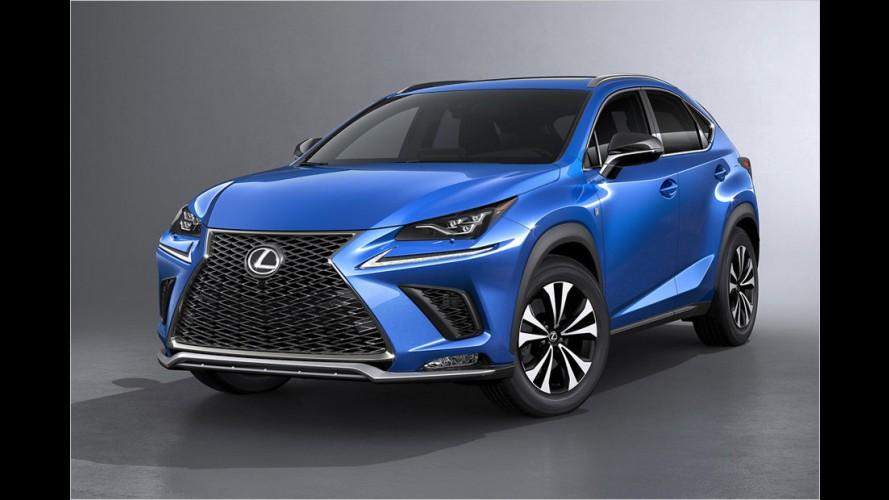 Lexus NX (2017) Facelift: Ein Crossover ... aus Auto und Grill