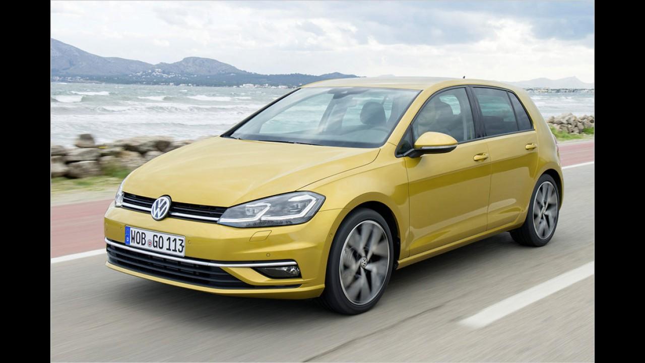 VW Golf 1.4 TGI (ab 25.225 Euro)