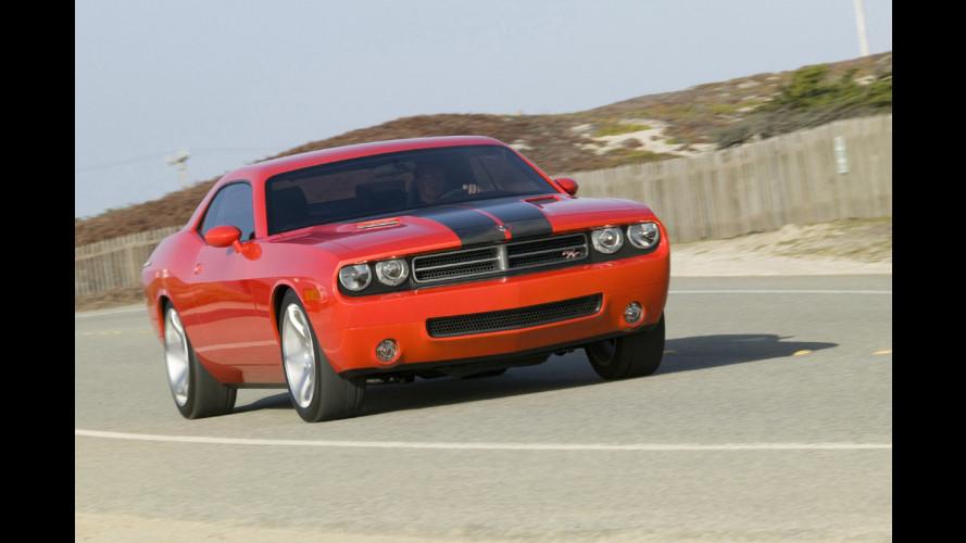 Dodge Challenger sempre più vicina