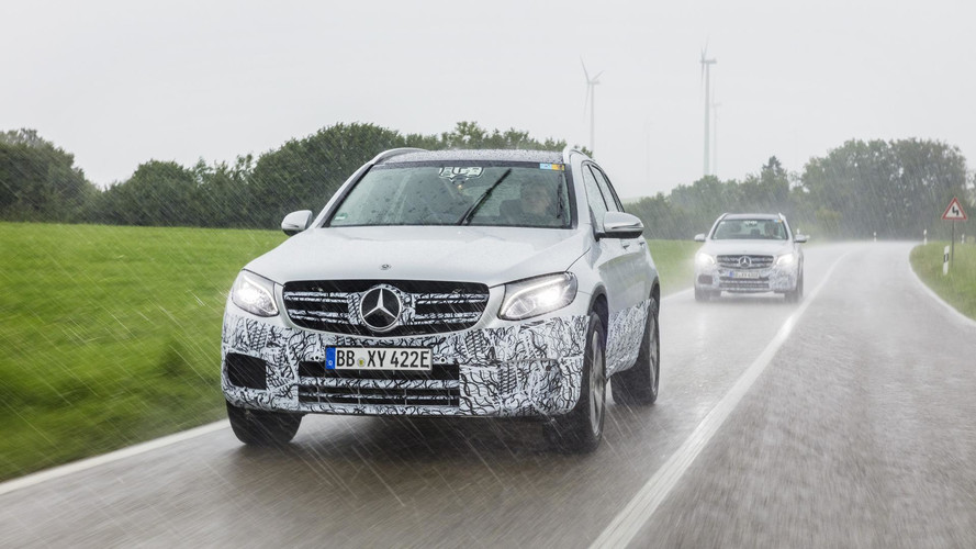 Mercedes GLC F-Cell – Nouvel aperçu avant son officialisation