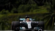 Lewis Hamilton Pole en el GP de Malasia