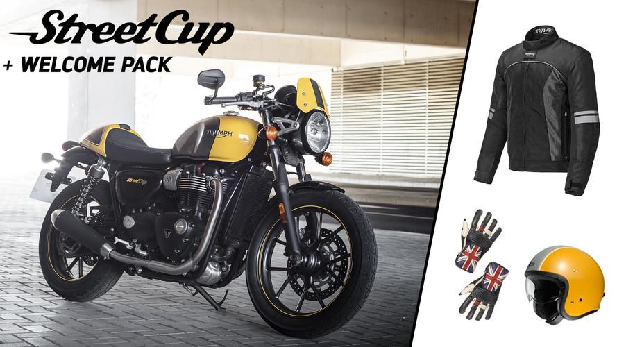 Triumph Street Cup, a la venta con un pack de regalo