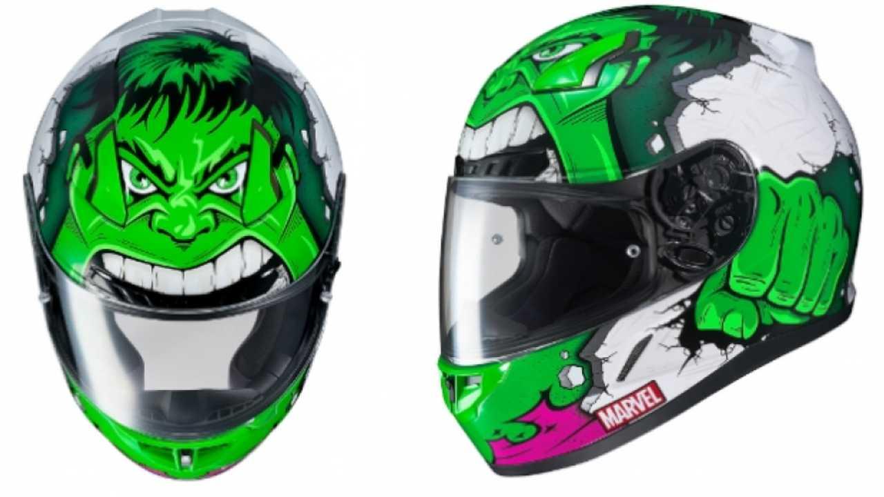 HJC CL-17, il casco dedicato ad Hulk