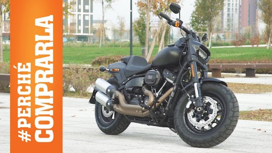 Harley-Davidson Fat Bob: Perché comprarla... e perché no [VIDEO]