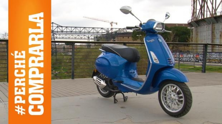 Vespa Sprint 125 i-Get ABS: perché comprarla... e perché no [VIDEO]