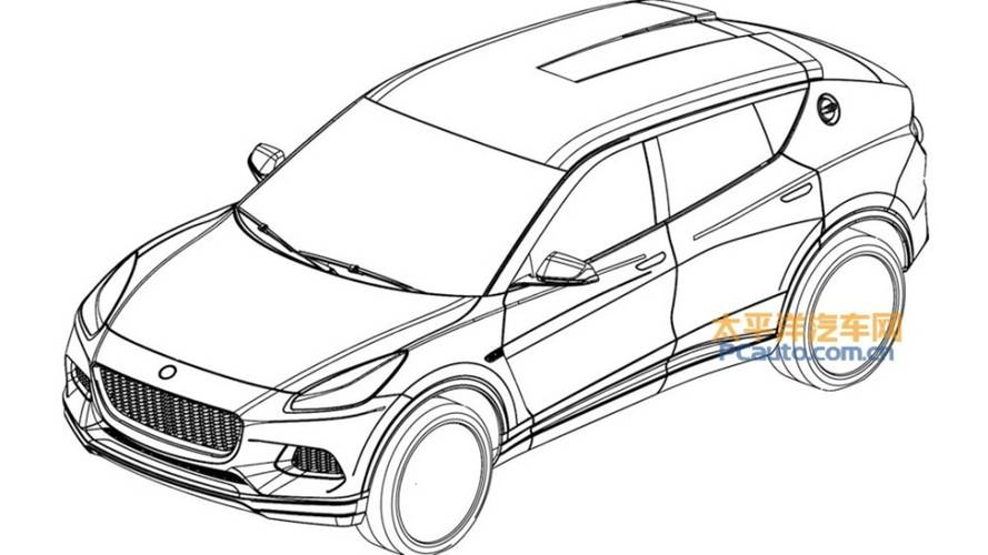 Lotus SUV Revealed In Leaked Patent Images
