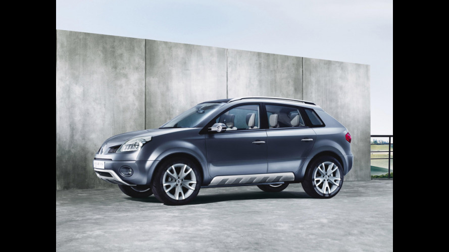 Koleos Concept: il futuro suv Renault