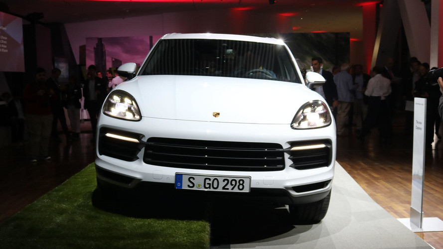 2019 Porsche Cayenne Live Photos