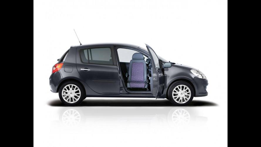 Renault Clio: arriva il sedile girevole