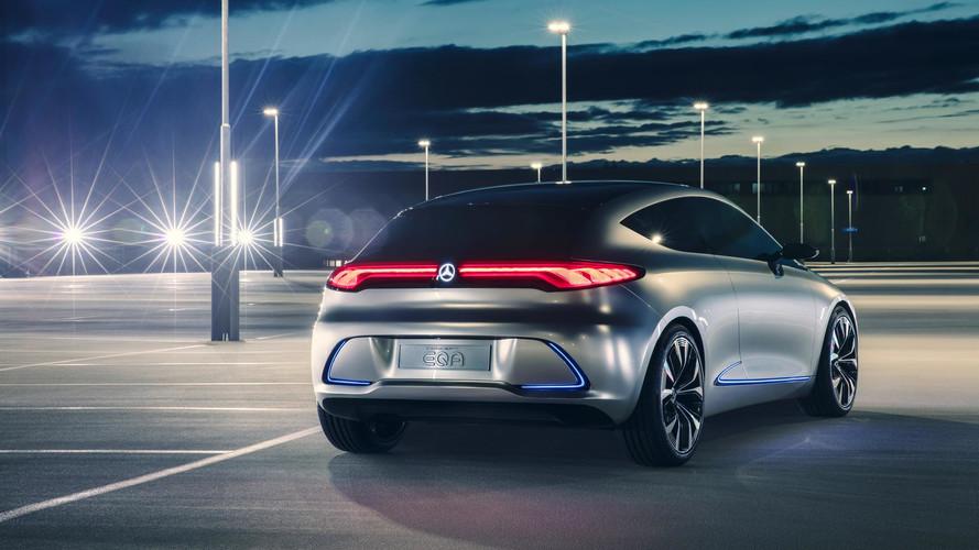 Az EQA lesz a Mercedes belépőszintű elektromos autója