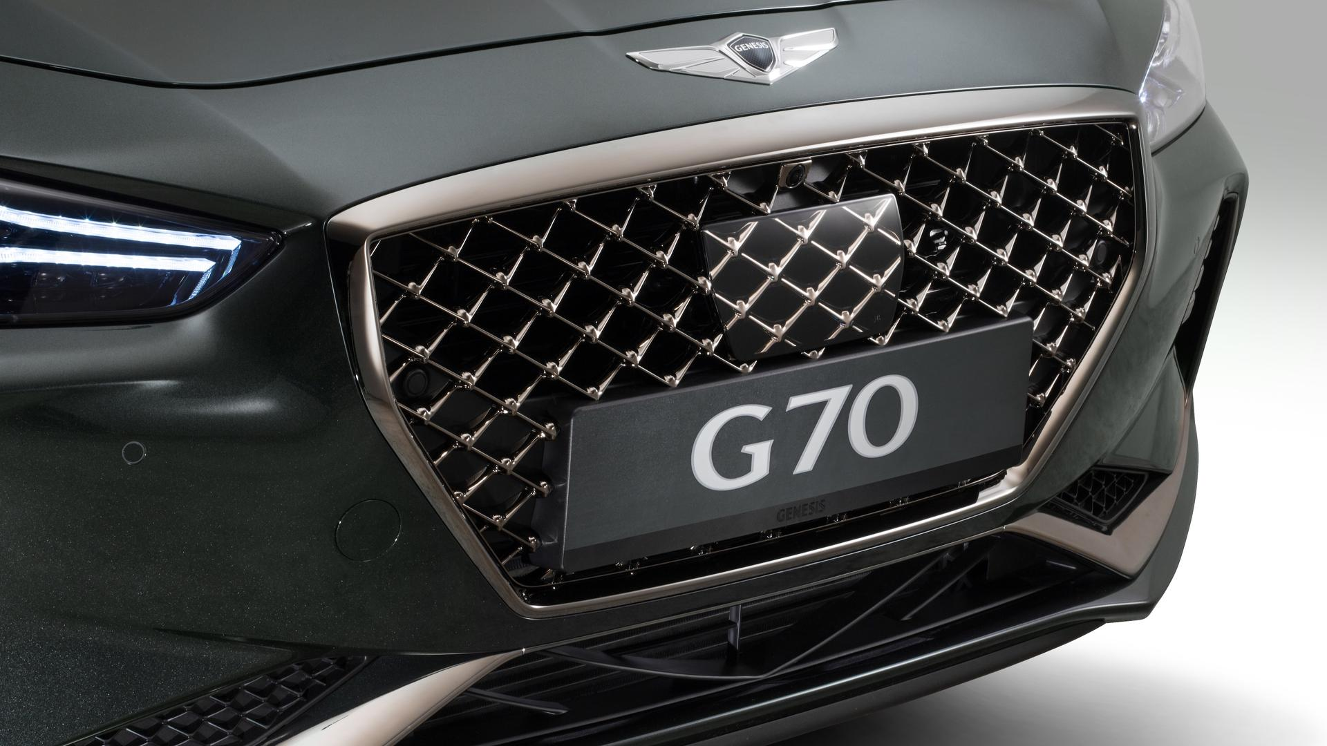 What The Hell Is That On The Genesis G70 S Grille