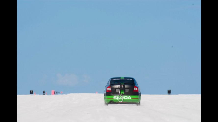 325 km/h: una Skoda veloce come una Lamborghini