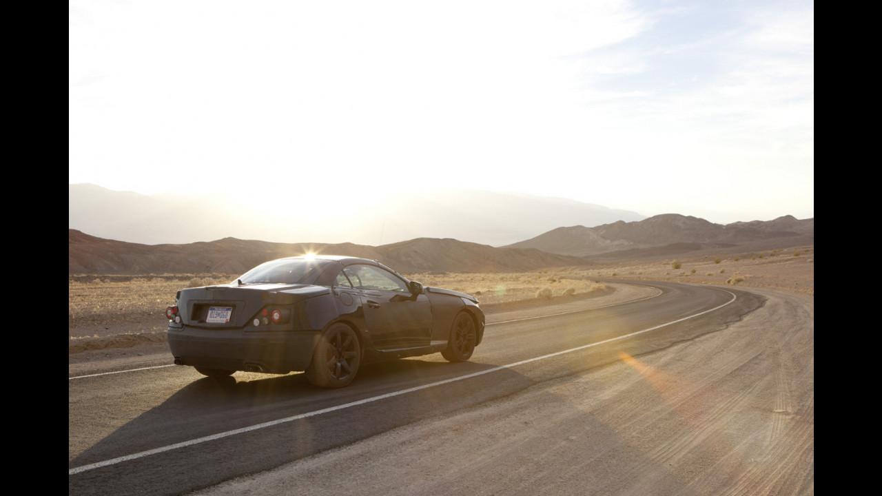 Nuova Mercedes SLK: il muletto
