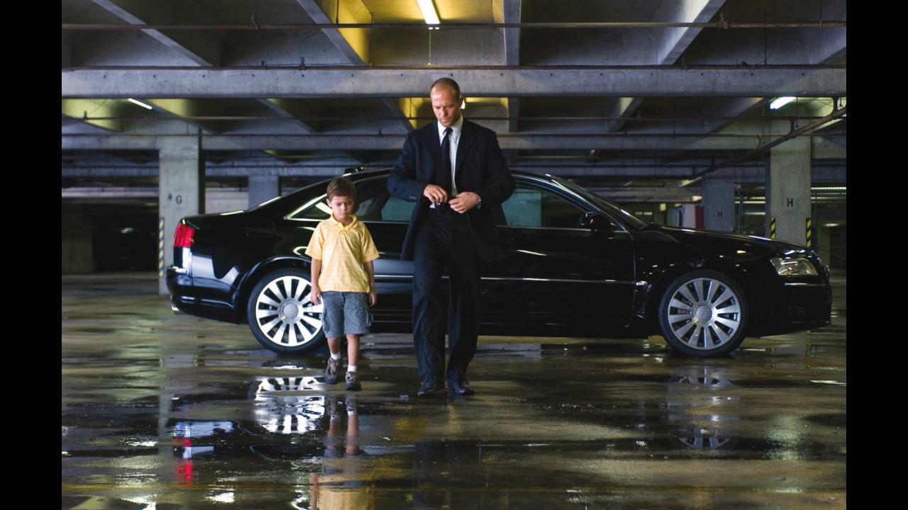 Audi A8 sul set di Transporter 2