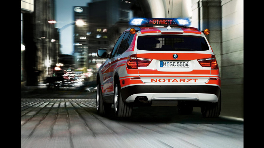 BMW X3 e X5, due concept ambulanza