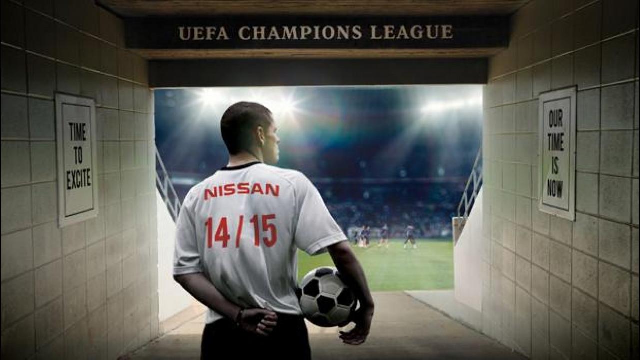 [Copertina] - Champions League, Nissan è il nuovo sponsor