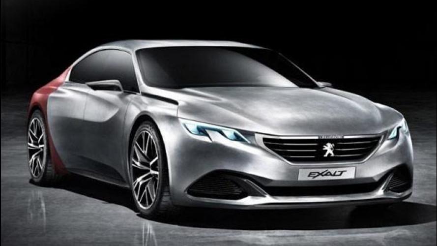 Peugeot Exalt Concept, come ti cambio il look alla sportiva francese