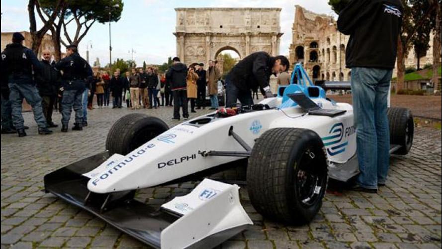 Roma si candida ad ospitare la Formula E