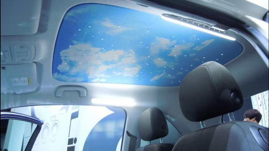 Sotto il cielo stellato della Opel Adam