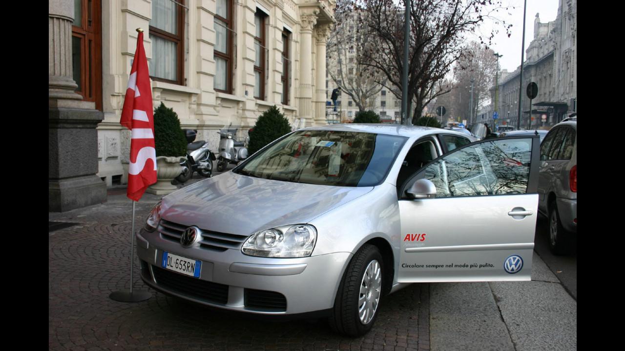 Volkswagen Golf Bifuel di Avis