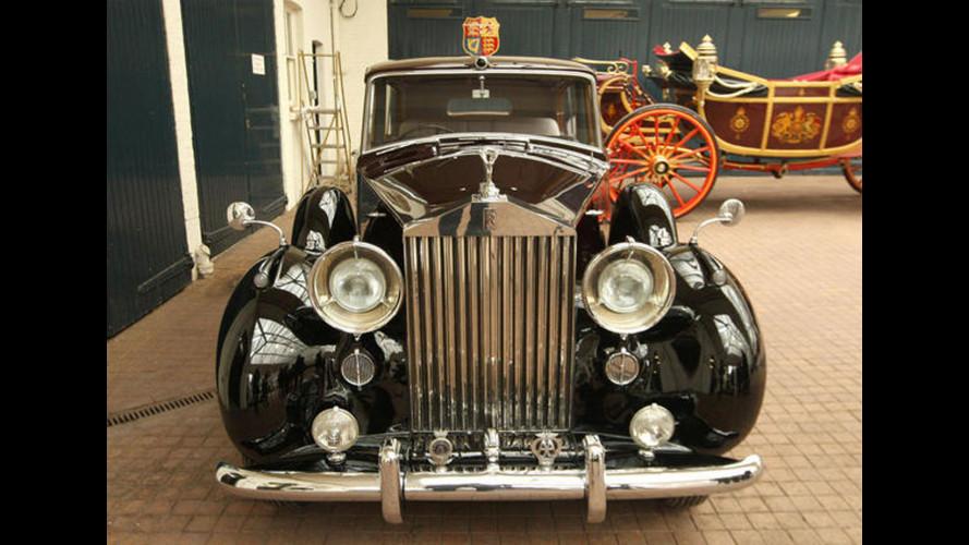 Pensione forzata per Rolls Phantom VI dei reali d'Inghilterra