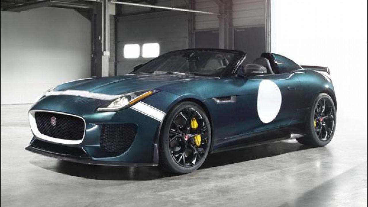 [Copertina] - Jaguar F-Type Project 7, la più spettacolare di tutte